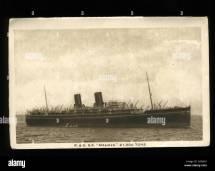 Ocean Liner 1920s Stock &