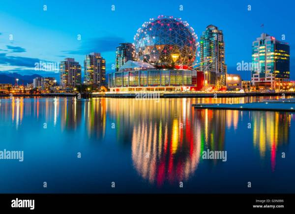 Science World Telus Of Vancouver Stock