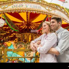 Revolving Chair Thames Jazzy Power Weight Carousel On The South Bank Stock Photos And