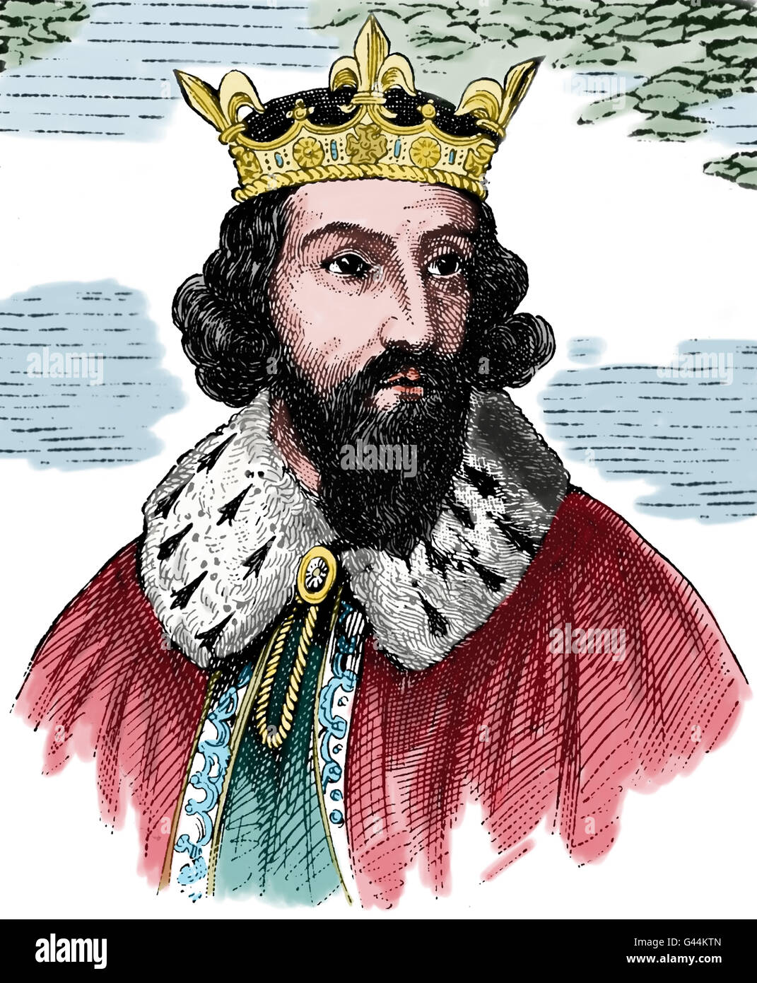 Alfred The Great 849 899 King Of Wesfrom 871 899