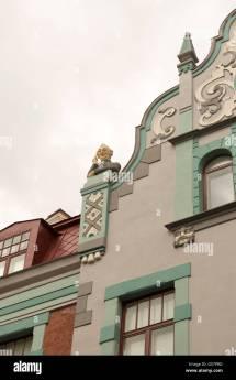 Tallinn Estonia- June 12 2016 Sculpture Of Man
