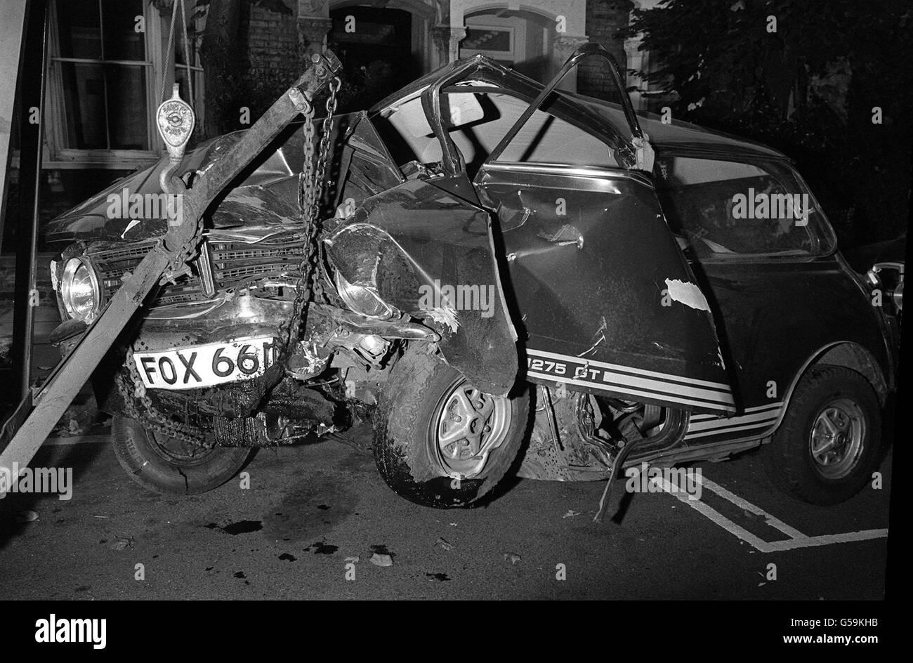 James Dean Car Crash Scene