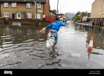 London Heavy Rain