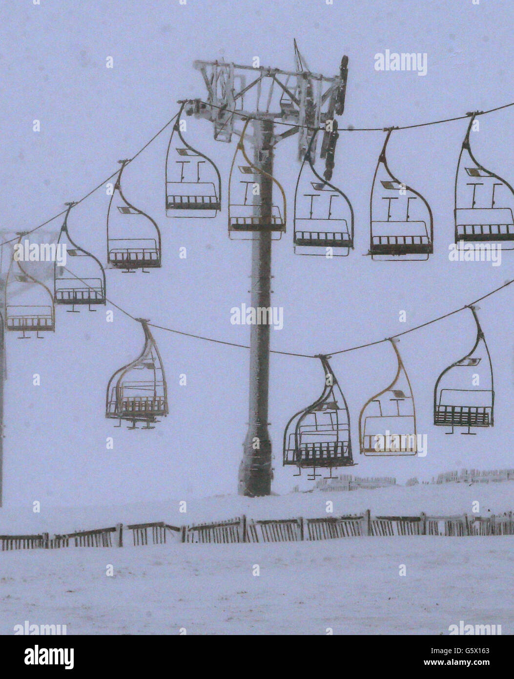 chair lift accident swing desk chairlift ski resort stock photos at image