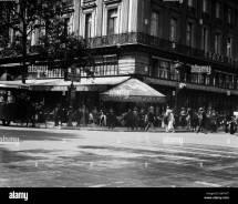 1920s Cafe De La Paix In Grand Hotel Paris France