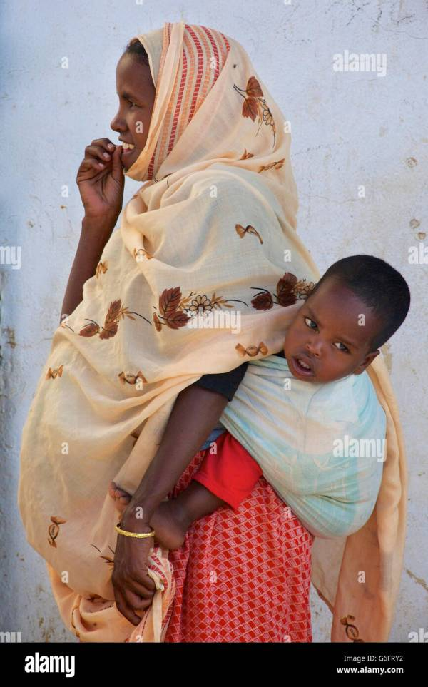 African Carrying Baby Sleep - Year of Clean Water
