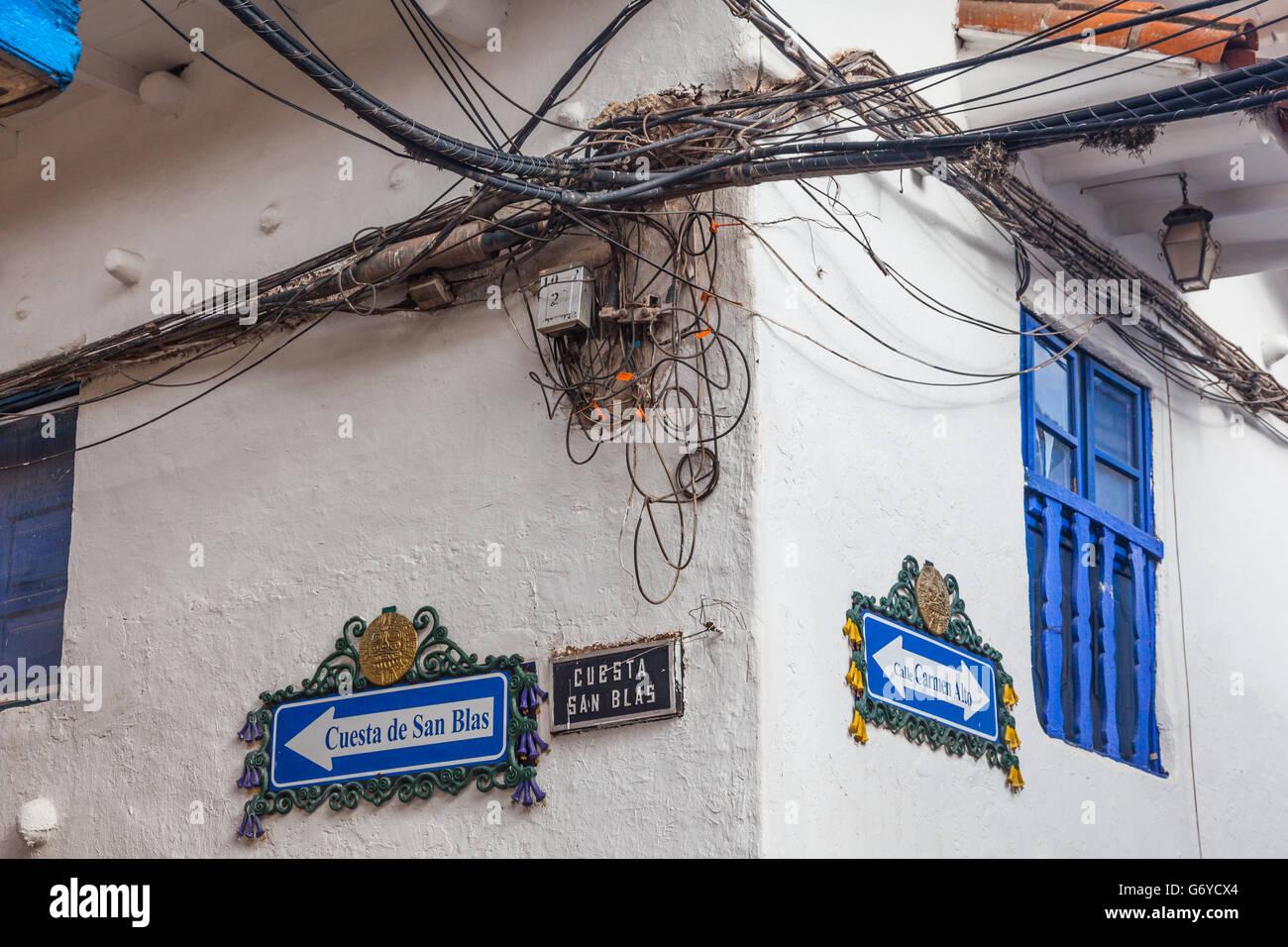 hight resolution of hazardous electrical wiring installation in cusco peru