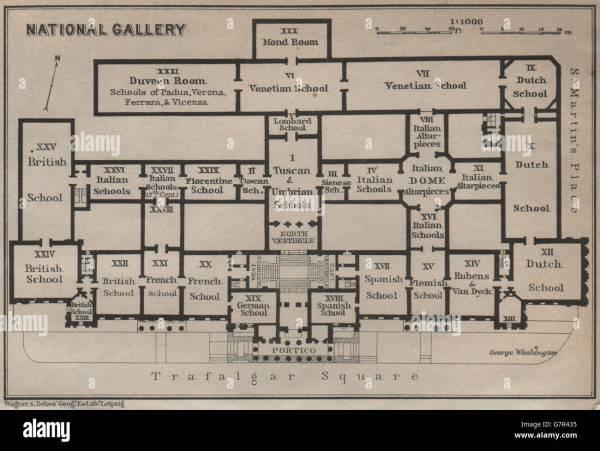 Trafalgar Square 19th Century Stock &