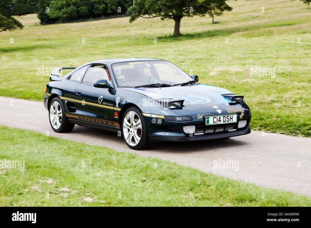 medium resolution of toyota mr2 at leighton hall classic car rally carnforth lancashire uk 3rd