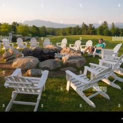 Adirondack Chairs Fire Pit Bouncy Chair For Baby Age Around Summer Mountain View