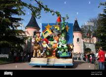 Disneyland Paris Toy Story Characters Stock