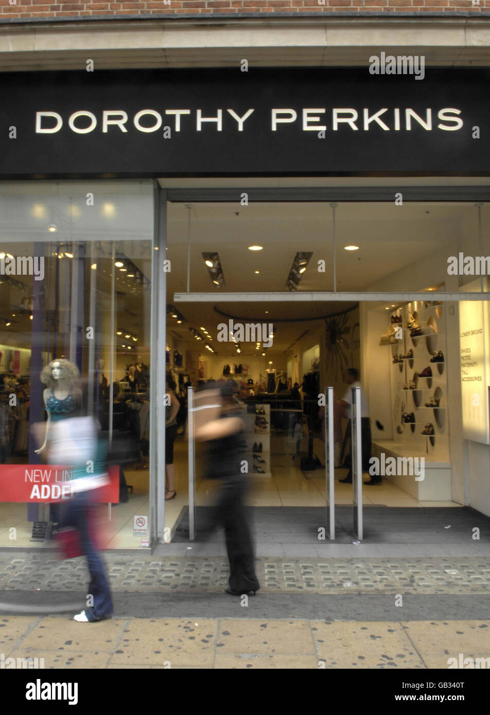 Dorothy Perkins Oxford Street Stock Photos  Dorothy