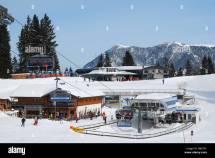Garmisch Germany Ski Stock &