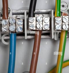 junction box power cables stock image [ 866 x 1390 Pixel ]