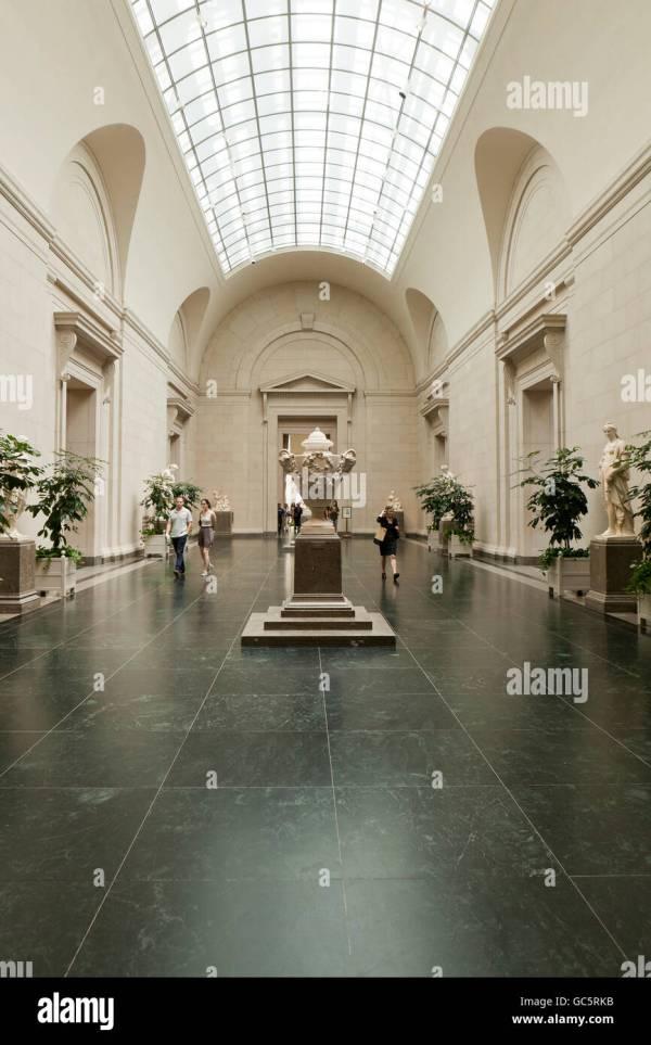 Smithsonian Museum Interior Stock &