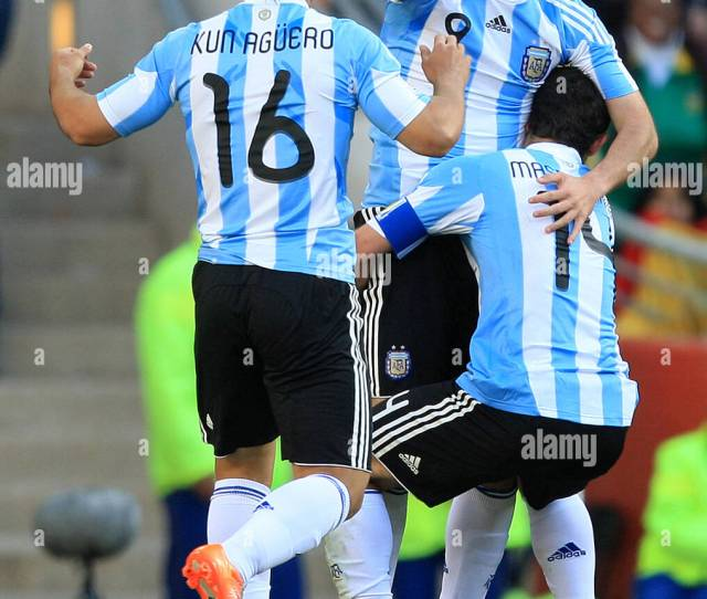 Soccer  Fifa World Cup South Africa Group B Argentina V