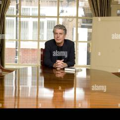 Anthony Bourdain Kitchen Confidential Sideboard Stock Photos And