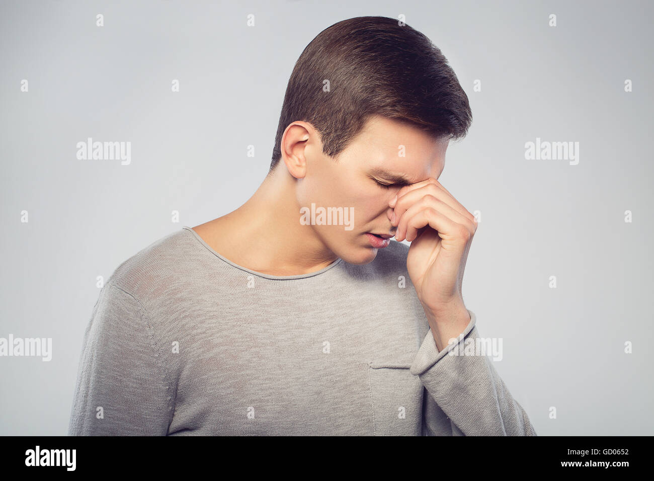 Image result for young man tired
