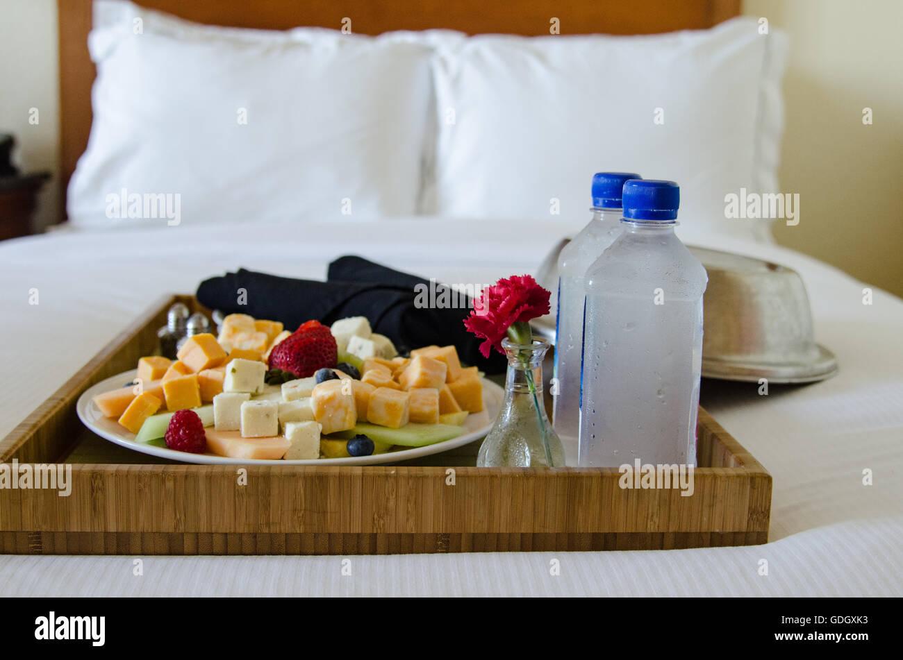 Hotel Room Service Tray Stock Photos  Hotel Room Service