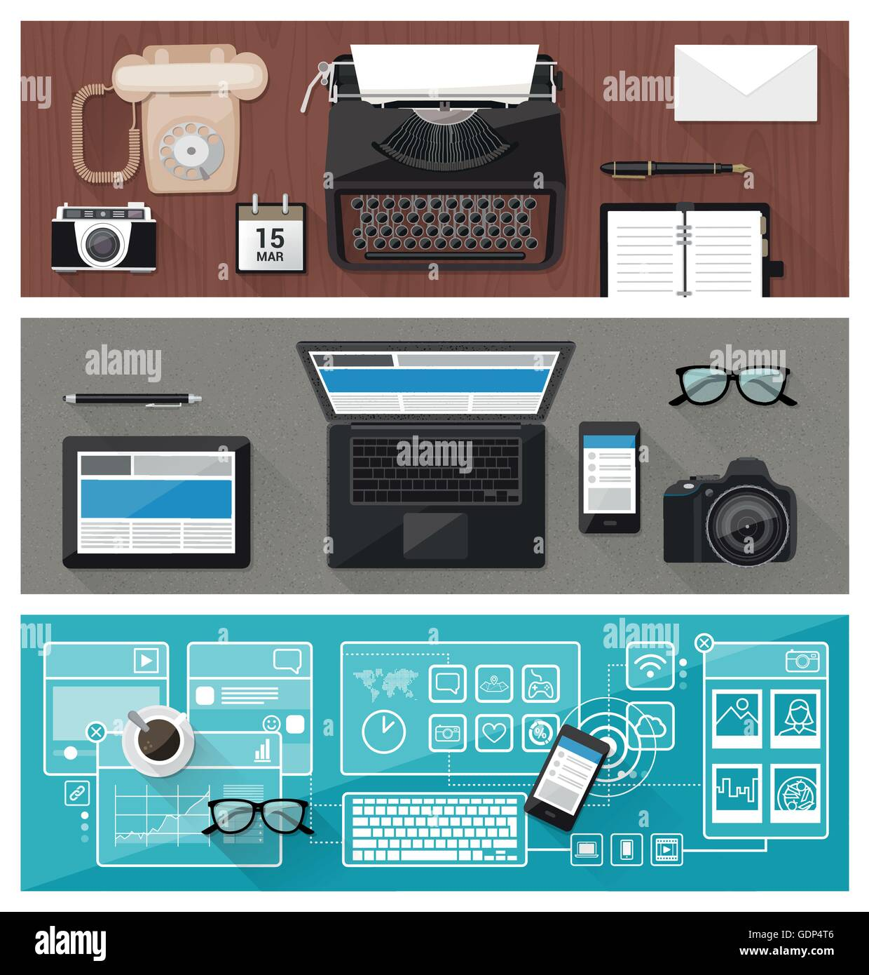 Past Present And Future Of Technology And Devices From