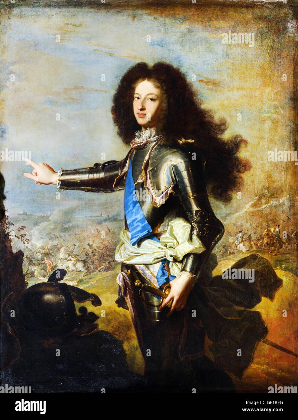 Louis De France (1682-1712) : louis, france, (1682-1712), Hyacinthe, Rigaud,, Louis, France,, Burgundy, (1682-1712, Stock, Photo, Alamy