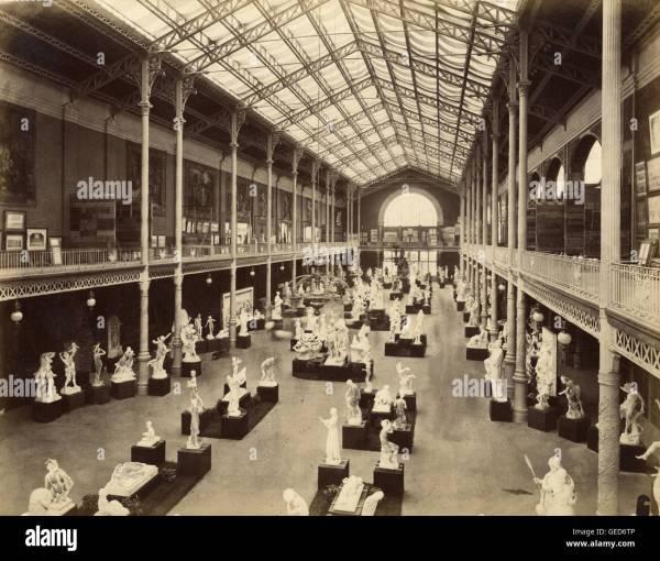 Galerie Des Beaux-arts Exposition Universelle De Paris