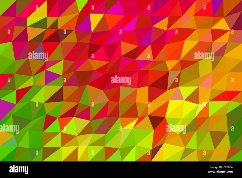 medium resolution of autumn abstract vector low poly abstract background in autumn vivid colors stock vector