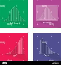 Flat Icons Illustration Set Gaussian Stock &