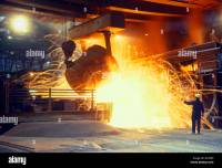 Smelting Iron Ore Stock Photos & Smelting Iron Ore Stock ...