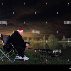Fishing Chair Hand Wheel Ergonomic Accessories Fisher Cat Stock Photos And Images Alamy