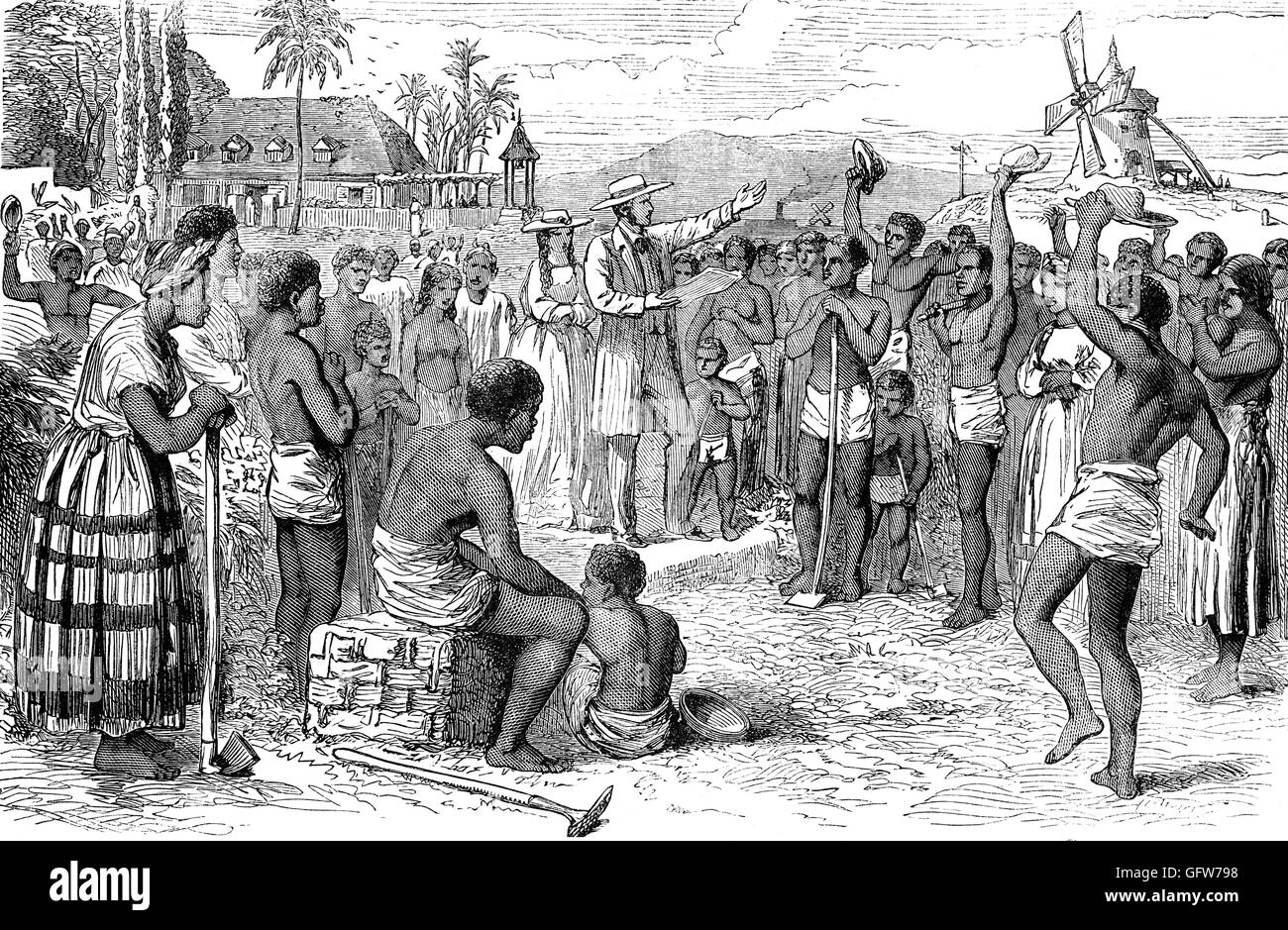 Following The Abolition Of Slavery In The British Empire