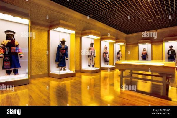 Chinese Minority Nationalities Art In Shanghai
