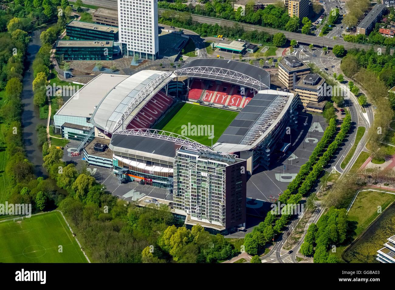 https www alamy com stock photo aerial view maison van den boer stadion galgenwaard fc utrecht football 113346019 html