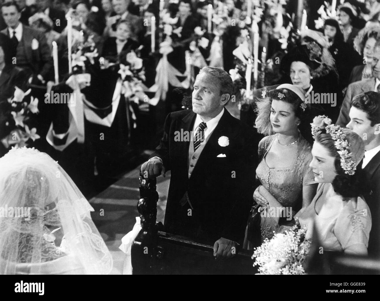 VATER DER BRAUT  Father of the Bride USA 1950  Vincente Minnelli Stock Photo Royalty Free