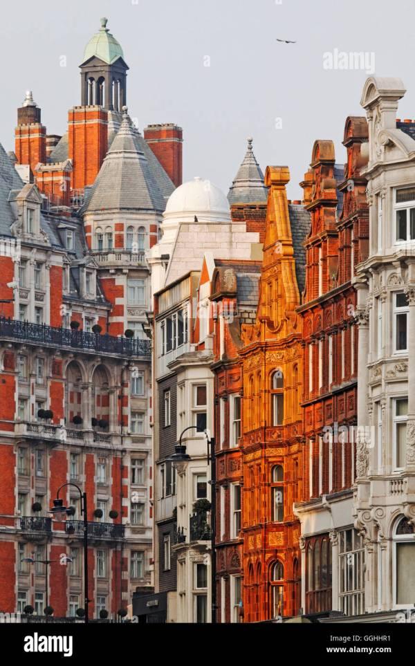 Brompton Road Knightsbridge London England United Kingdom Stock 113483861 - Alamy