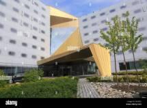 Modern Architecture Clarion Hotel Trondheim Norway Stock