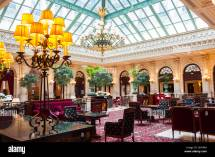 Paris France Interior Bar Cafe Lounge Room With
