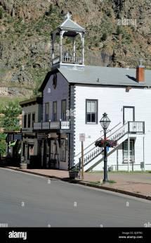 Town Georgetown Colorado Stock &