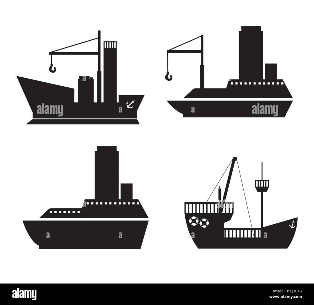 medium resolution of illustration of boat ship cruise and pirate ship vector illustra
