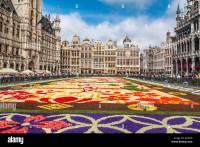 2016 Brussels Flower Carpet in Belgium Stock Photo ...