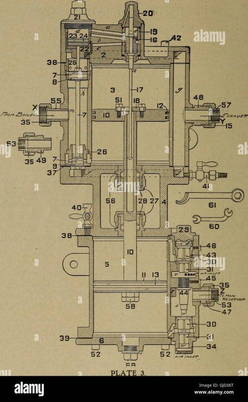small resolution of air brake text for engineers and firemen 1908 stock image