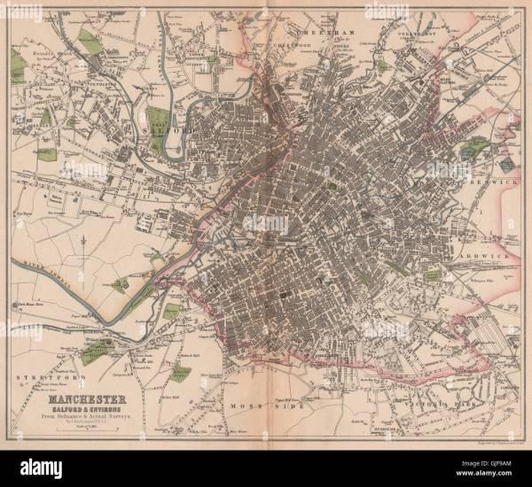 19th Century City Manchester Stock Photos amp 19th Century