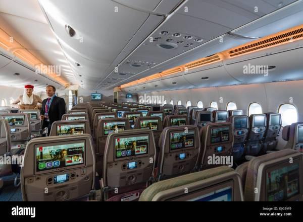 Emirates Plane Interior Year Of Clean Water