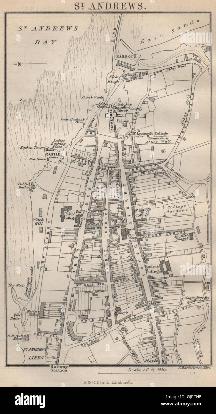 Saint Andrews Map | United Kingdom Google Satellite Maps