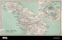 Gozo Map Stock & - Alamy