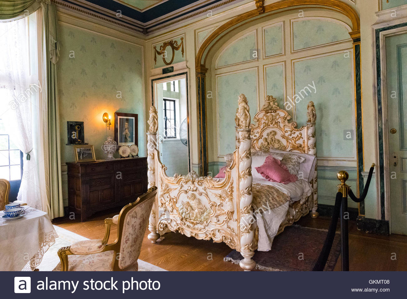Casa Loma interior details The Windsor room was prepared in case any Stock Photo 115398536  Alamy