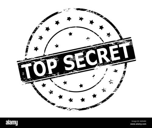 small resolution of top secret stock vector