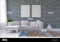 Plain Wall In Living Room Stock Photos & Plain Wall In ...