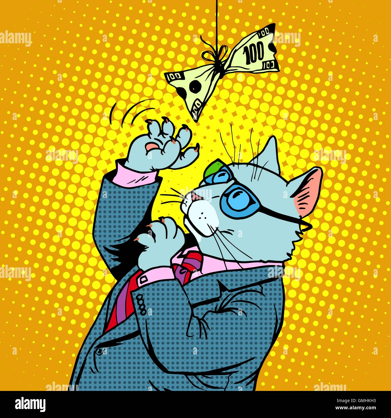 Cat Game Stock Vector Images