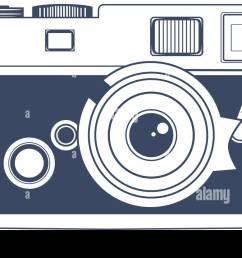 vintage camera vector clipart art [ 1300 x 830 Pixel ]
